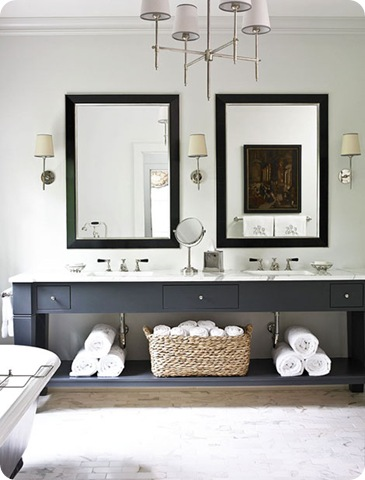 graphite vanity