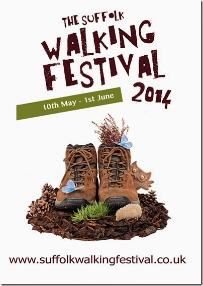 High res artwork Suffolk Walking Fest. Portrait