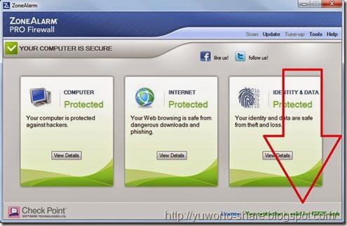 ZoneAlarm Pro Firewall v.12.0.104.000
