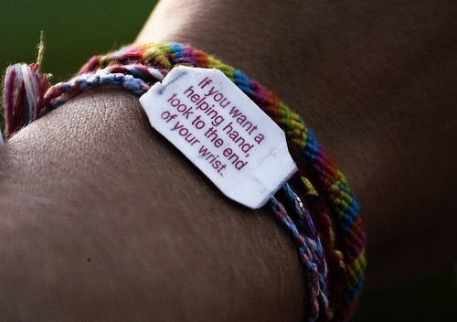 if_you_want_a_helping_hand_look_to_the_end_of_your_wrist_so_let_us_live_our_lives_without_a_doubt_inspiring_photography_quote_quote