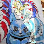 art in the streets of Harajuku in Harajuku, Tokyo, Japan