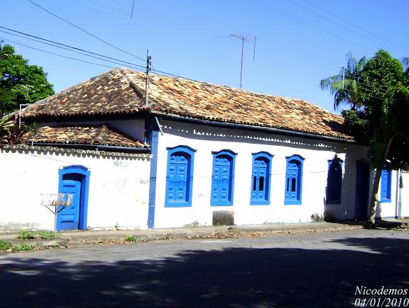 Maison ancienne de Pitangui (MG, Brésil), 4 janvier 2010. Photo : Nicodemos Risa