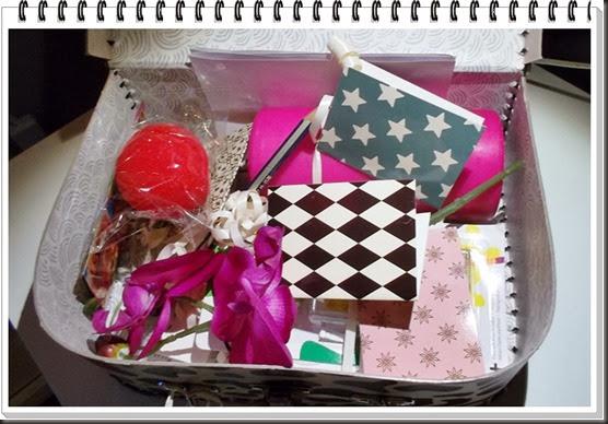 åpen koffert