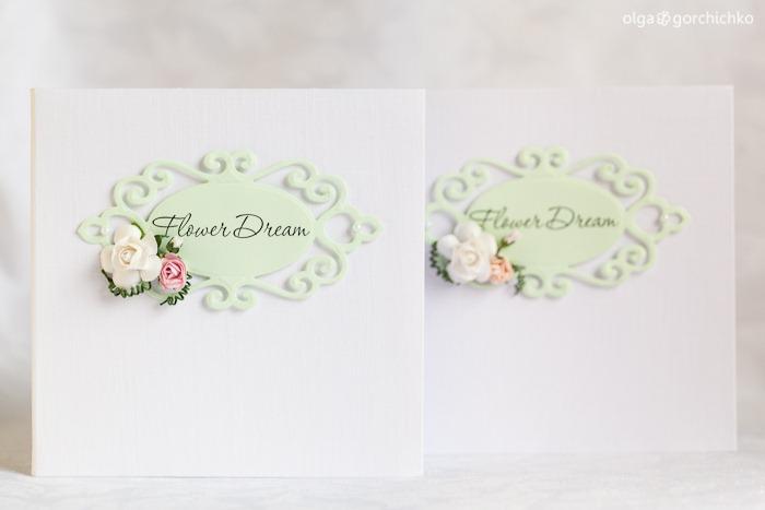 Конверт для дисков с фотографиями проекта Flower Dream