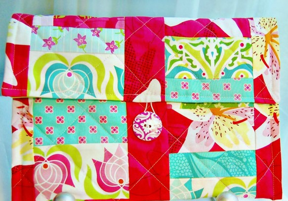 DIY Quilted iPad Tablet Cover by Scattered Thoughts of a Crafty Mom