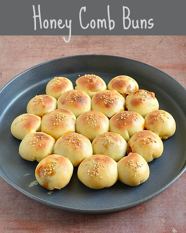Honeycomb Buns Recipe