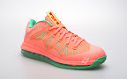 nike lebron 10 low gr watermelon 3 08 Release Reminder: Nike LeBron X Bright Mango aka Watermelon