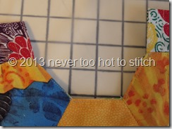2013 stitching detail