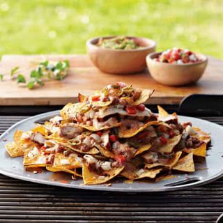 Chipotle-Spiced Nachos with Chicken