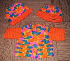 6 bikini yarn sweater and hats