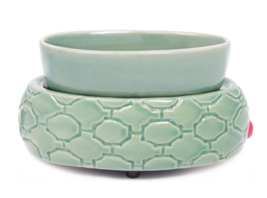 Green Lattice Wax Melter