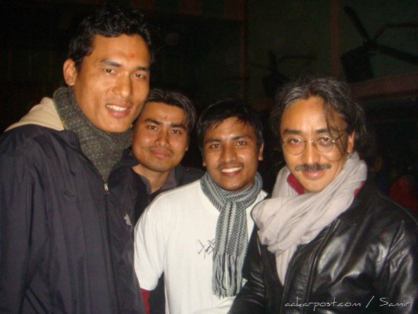 With Nepathya's Amrit Gurung