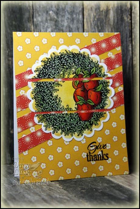 ODBD, Apple Wreath, OWH