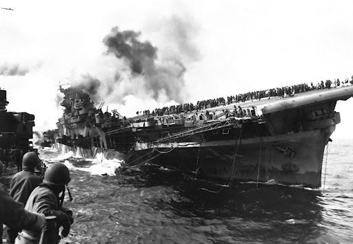 1945, during World War II.