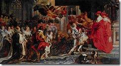 Rubens - A coroação da rainha