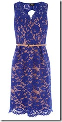 Oasis Blue Lace Dress