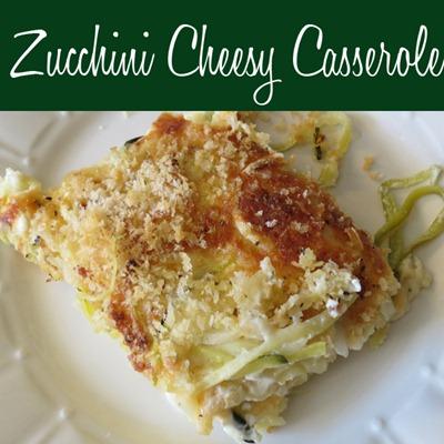 Zucchini Cheesy Casserole