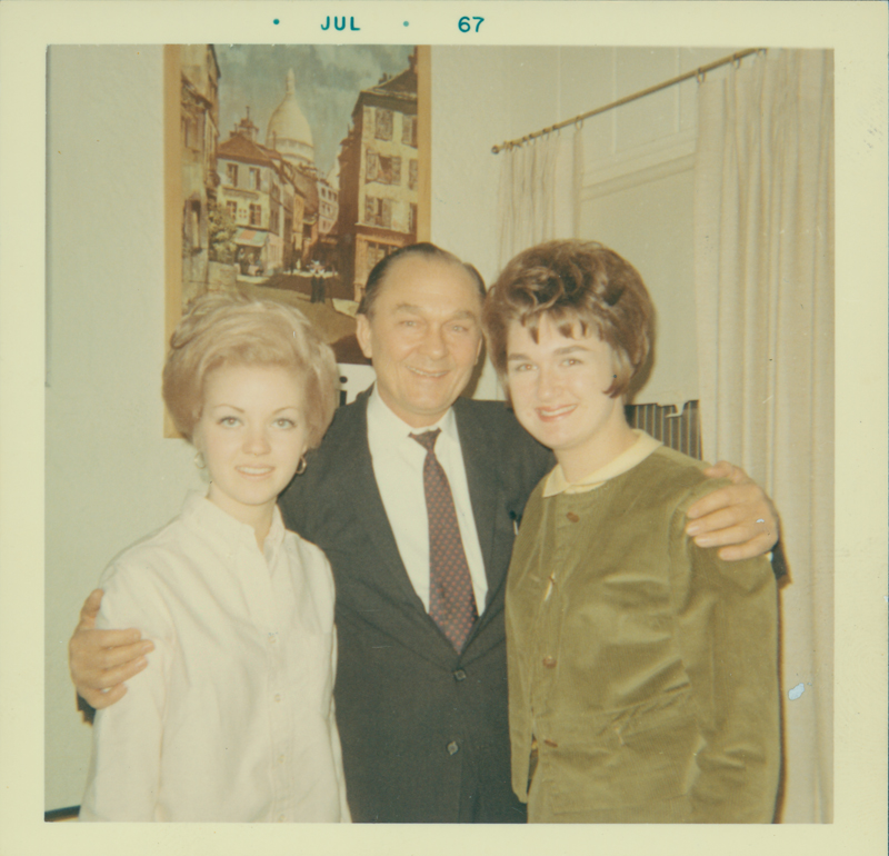 Lynn Edward Harris (right). July 1967.