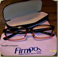 glasses closeup
