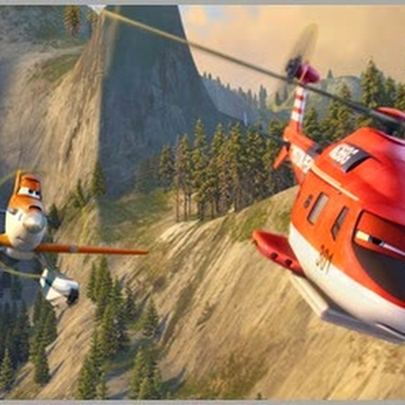 "Real-Life Steers High-Action Story of ""Planes: Fire & Rescue"""