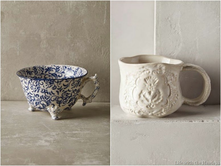 Anthropologie Mugs 2