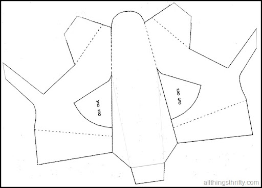 Cinderella Paper Shoe Template Paper shoe template