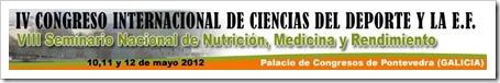 IV Congreso Internacional Ciencias del Deporte y la Educación Física en Pontevedra, Mayo 2012 sportis