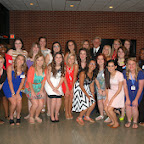 Girls State Swearing-in Ceremony 2014