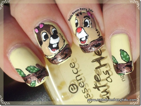 chip and dale nail art 4