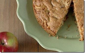 Torta de manzana rústica