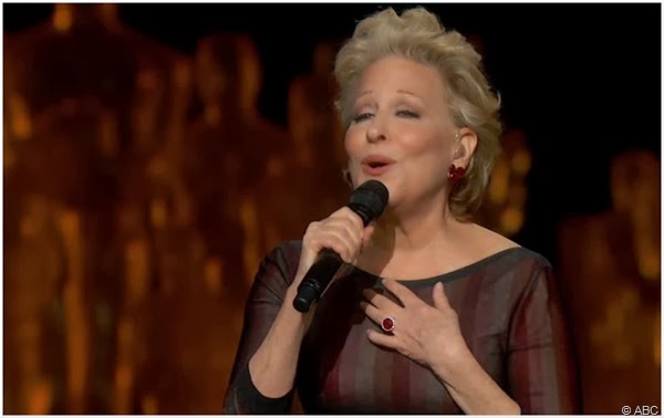 Bette Midler is the wind beneath her wings.