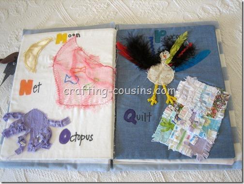 Textile Quiet Book (6)