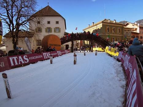 Cavalese, Marcialonga, 300 meetrit finišini