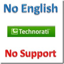 Technorati_No_Support_NonEnglish_Blog
