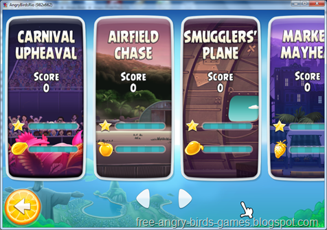 Free Download Angry Birds Rio v1.8.0 PC Game Full