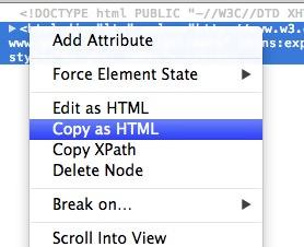 HTML要素全てをコピ