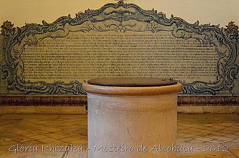 Glória Ishizaka - Mosteiro de Alcobaça - 2012 - Sala dos Reis - azulejo 8