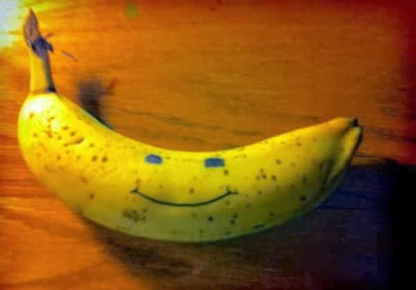 3- Comer uma banana pode animá-lo!