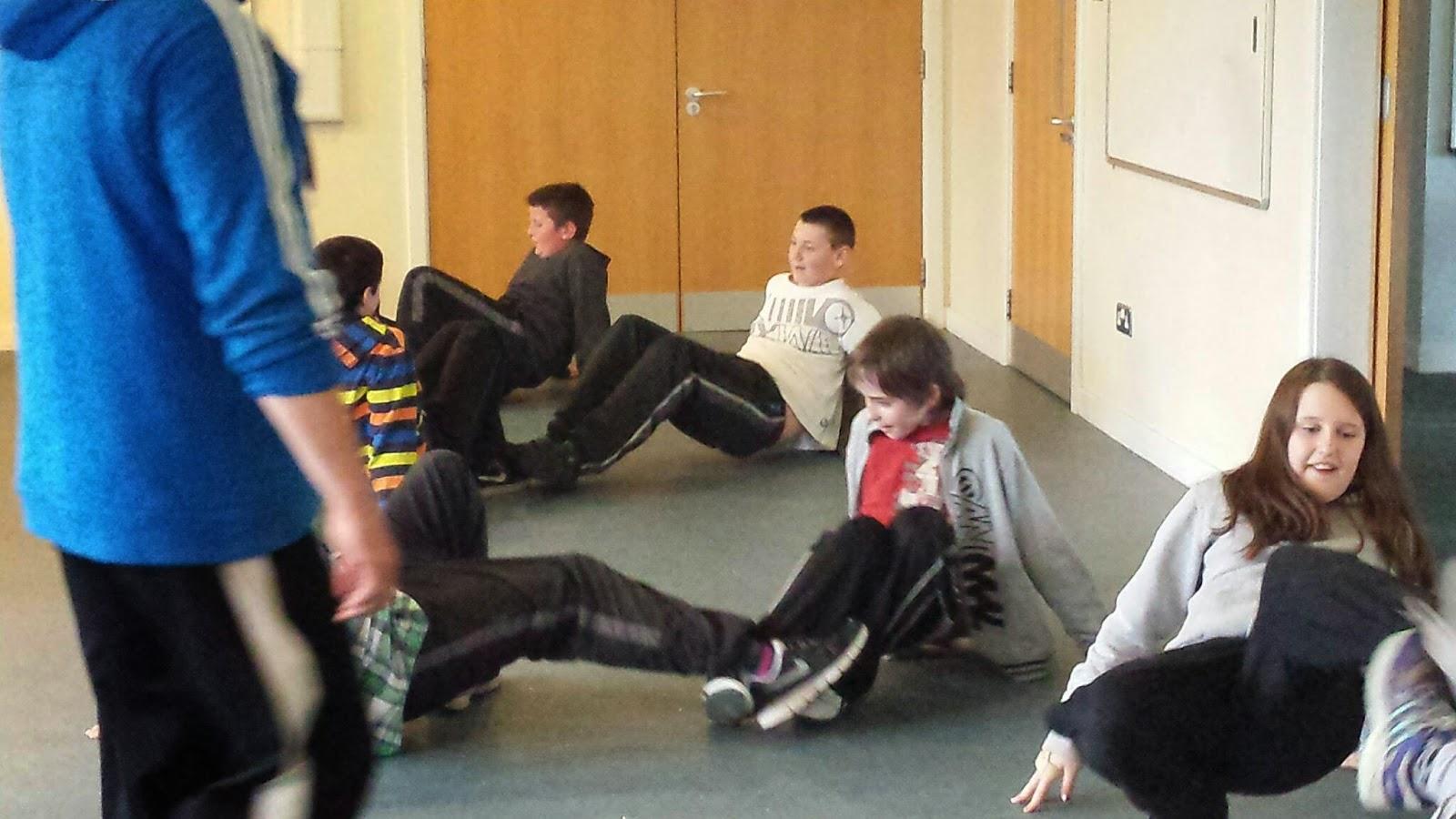 Dounby School Adventures Capoeira Martial Arts Workshop
