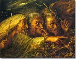 Alexandre-Marie Colin The Three Witches From Macbeth