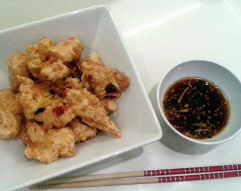 sweet chilli chicken