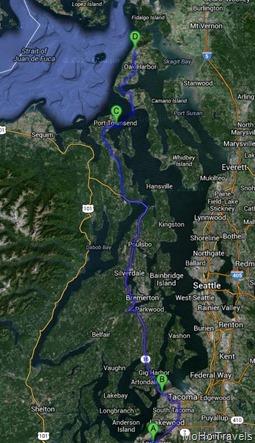 original route 114 miles