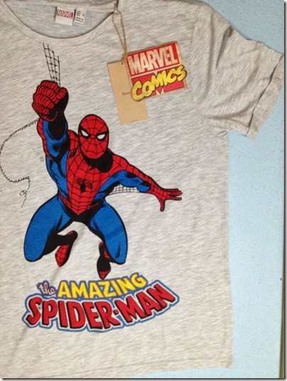 Bershka Marvel Heroes print tees - the amazing Spider-man