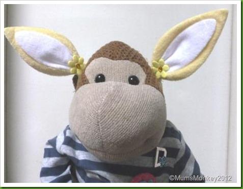 Poundland Easter Bunny Hairclips
