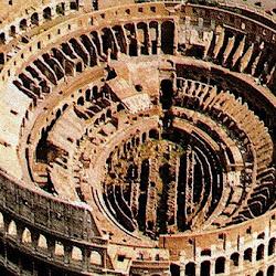 69 - Coliseo de Roma - vista aérea