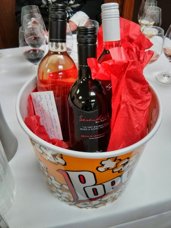 Serendipity Movie Night Gift Basket