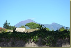 Amphitheatre view of Vesuvius