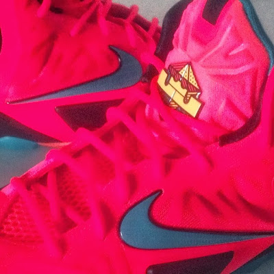 nike lebron 11 gs crimson elite 2 01 Kids Nike LeBron XI GS Styled to Match the Mens Crimson Elite