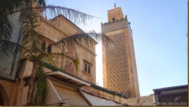 Minarete en la Jemaa Al Hamra