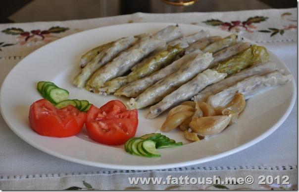 وصفة محشي الملفوف من www.fattoush.me